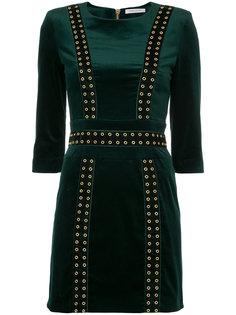 платье с заклепками  Pierre Balmain