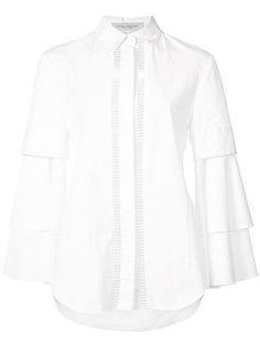 рубашка с рукавами клеш  Carolina Herrera