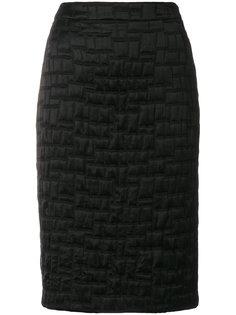фактурная юбка-карандаш Talbot Runhof