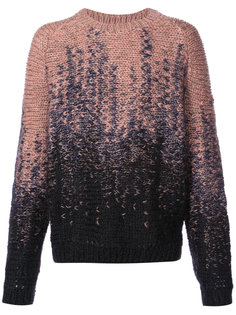 two tone crew neck sweater Lemaire
