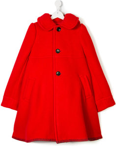 свободное пальто с капюшоном  Comme Des Garçons Girl