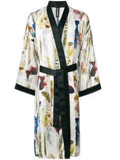 кимоно с принтом перьев Astrid Andersen