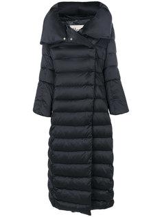длинное дутое пальто  Herno