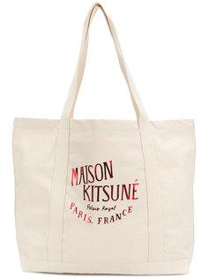 сумка-шоппер Palais Royal Maison Kitsuné
