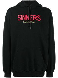 толстовка Sinners  Balenciaga