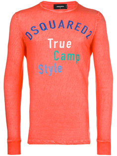True Camp Style print T-shirt Dsquared2