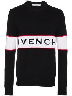 """свитер с логотипом вязки """"интарсия"""" Givenchy"""