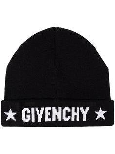 шапка-бини с логотипом Givenchy