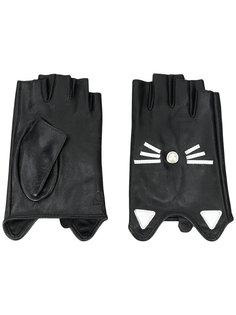 перчатки Choupette Karl Lagerfeld