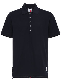 футболка-поло с полосками  Thom Browne