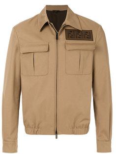 куртка с накладными карманами Fendi