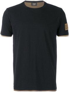 классическая приталенная футболка Fendi