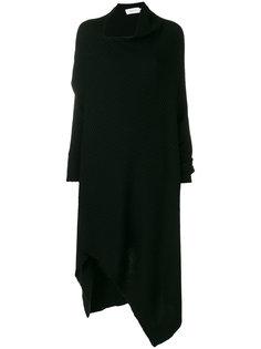 асимметричное вязаное платье Marquesalmeida