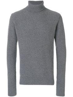 свитер в рубчик с высокой горловиной Officine Generale
