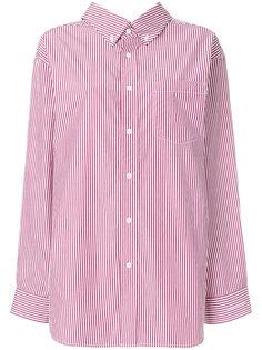 рубашка в полоску Balenciaga
