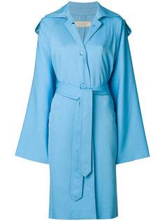 пальто свободного кроя с талией на завязке Nina Ricci