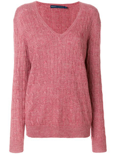 классический трикотажный свитер  Ralph Lauren