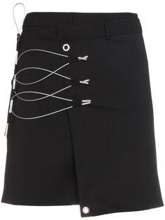 мини-юбка с отделкой  Alyx