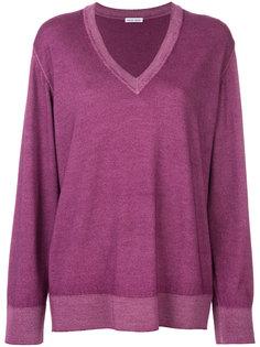 свитер с V-образным вырезом  Tomas Maier