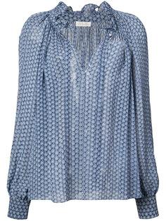 блузка с узором Love Shack Fancy