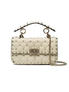 стеганая сумка на плечо Rockstud Valentino