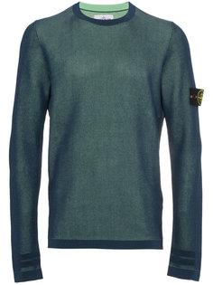пуловер с заплаткой с логотипом Stone Island