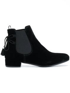 ботинки челси с завязками  Prada