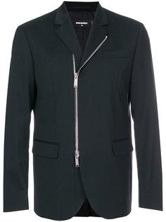 пиджак кроя слим с молнией Dsquared2