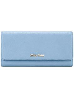 кошелек с визитницей на цепочке Miu Miu
