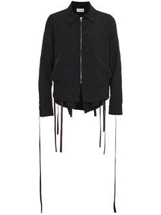куртка на молнии с завязками на рукавах Bed J.W. Ford