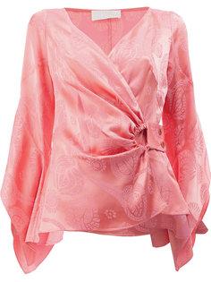блузка с запахом Peter Pilotto