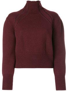 свитер с воротником на молнии Bottega Veneta
