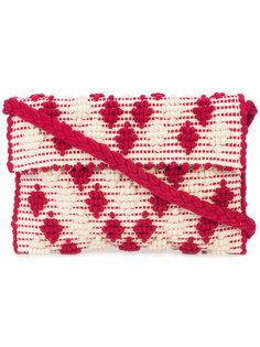 клатч с вышивкой Antonello Tedde