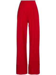 широкие брюки с завышенной талией  Michael Lo Sordo