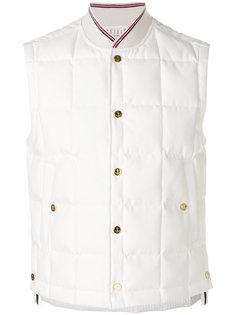 стеганая бейсбольная куртка Thom Browne