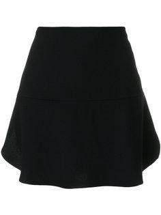 короткая юбка А-силуэта Red Valentino