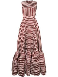 расклешенное платье с горох Huishan Zhang