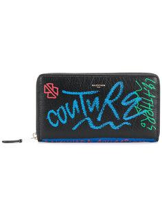 континентальный кошелек Bazar с принтом граффити Balenciaga