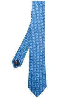 галстук с микро-принтом Gancio Salvatore Ferragamo