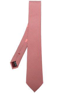 галстук с микро-принтом Salvatore Ferragamo