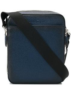 сумка-мессенджер с тисненым логотипом Salvatore Ferragamo