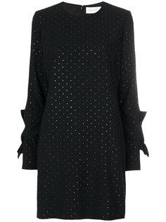 платье шифт с заклепками  Victoria Victoria Beckham