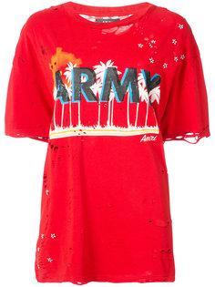 футболка в стиле оверсайз Amiri