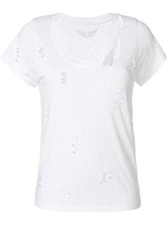 футболка Cara с рваным эффектом  Zadig & Voltaire