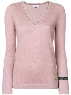 свитер с V-образным вырезом и блестками  Bella Freud
