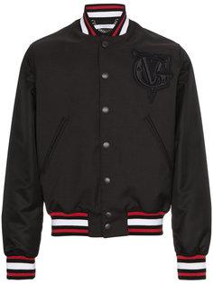 куртка-бомбер с вышивкой логотипа Givenchy