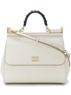 большая сумка-тоут Sicily Dolce & Gabbana