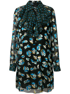 платье с цветочным принтом  Anna Sui