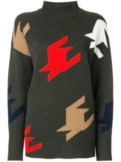 """свитер вязки """"интарсия"""" Victoria Beckham"""