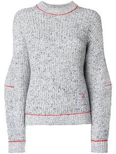 свитер со спущенными рукавами Victoria Beckham